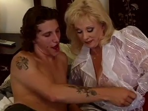 Diane Diamonds specializes in seducing younger men and she's got a sweet pussy