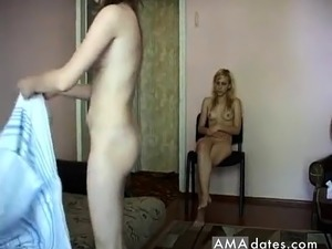 Dirty old man wants to fuck both these girls