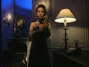 Sexy babe in the hardcore vintage porn