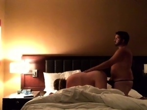 Curvy mature wife gets banged doggystyle on hidden cam