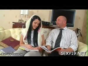 Sex lesson with hungry teacher