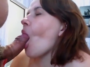 My Wife Getting A Creampie By My Big Fat Cock