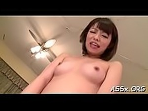 Oriental darling mesmerizes with lively anal riding