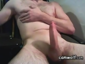 pleasing straight orgasming guy