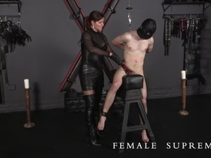 Highly Strung! Femdom Featuring Dominatrix  Baroness Essex