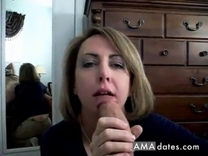 Mom Sucking Dick