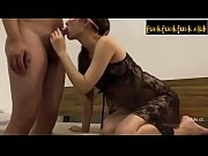 Teen Lesbians Lily Carter and Skin Diamond Pussy Grinding