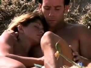 Nudist beach voyeur spies on sexy babes with tight pussies