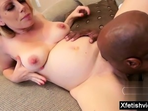 Hot pregnant hardcore with facial