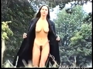 Jacket Flashing and Nude walk in public Part 2