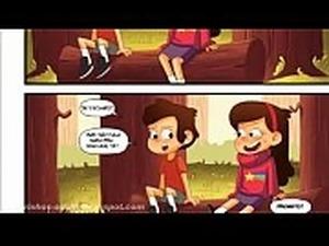 Gravity Falls Hentai &ndash_ O segredo das madeiras - Esse quadrinho Completo...