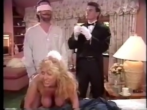 Boss and butler fucking the maid