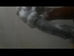 Big 12inch Cock in Shower
