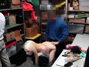 Tit police and best boss caught xxx Attempted Thieft