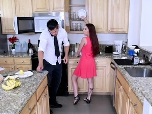 ExxxtraSmall - Petite Ava Haze Punished and Banged
