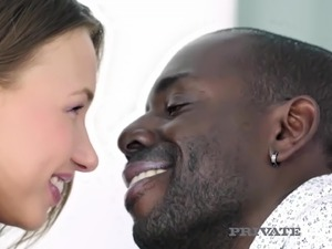 Gorgeous Blonde Taylor Sands Loves Interracial Anal!