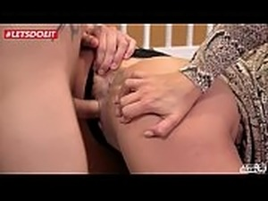 LETSDOEIT - Young Stud Gets Seduced and Fucked By Step Mommy