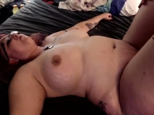 Thick brunette wife gets the hardcore fucking she deserves