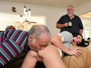 Teen has sex with teacher first time Riding the Old Wood!