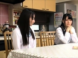 Dazzling Japanese schoolgirl learns a lesson in hardcore sex