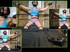Females Wrestler Sybian Ride