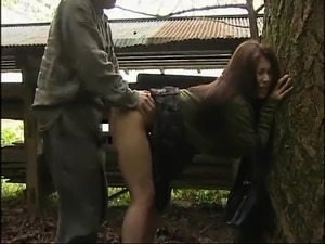 Luscious Japanese housewife can't get enough hardcore sex
