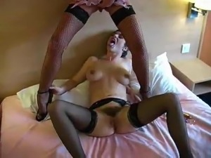 Gorgeous British lesbians In Stockings