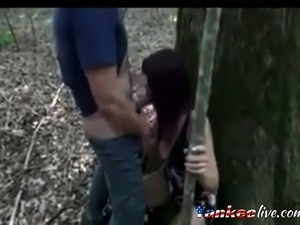 girl sucked stranger in woods