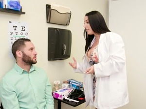 Trickery - Doctor Angela White fucks the wrong patient