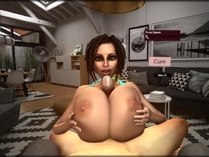 Trishka Novak - Animated Huge Titty Titfuck 3D