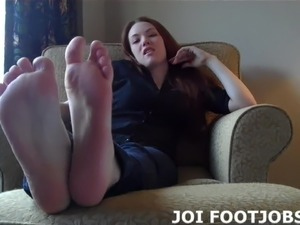 My lubed up feet are ready for you to fuck them JOI