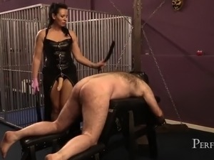 Spanked and fucked dirty fucking hole for dark faye