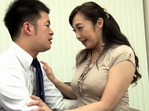 Mature Oriental wife gets sexually fulfilled by a young stud