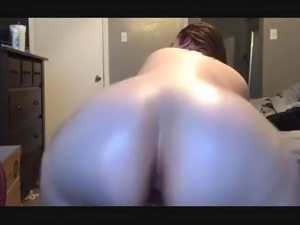 PAWG Anus Clapping in Slow Motion