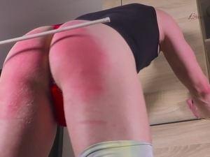 Clip 103Lar - Caning From Lara - MIX