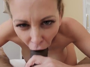 Teen expert at taking first time Cherie Deville in