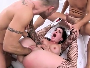 Gangbang with big cocks