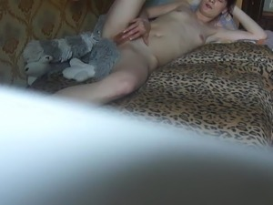 Russian Small Tits RedHead Girl 01