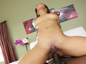 Lucky stud Lexington loves fucking Latina asshole