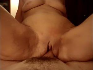 Horny Widow Riding My Cock