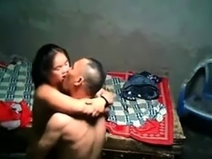 Amateur Asian babe with big tits gets fucked on hidden cam