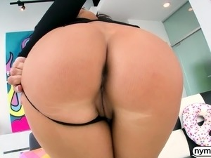 NYMPHO Busty Sofi Ryan has her tight hole penetrated
