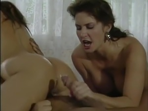 Ashlyn Gere and Selena Steele cumshot