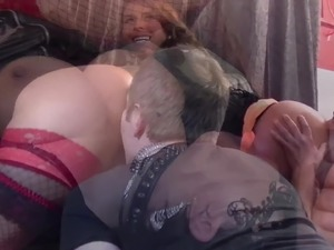 Sexy Susi and her girlfriend want all the dicks