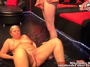 german cum in mouth and inside pussy party