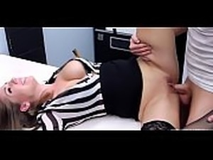 Alluring Alex Chance romped proper in the office